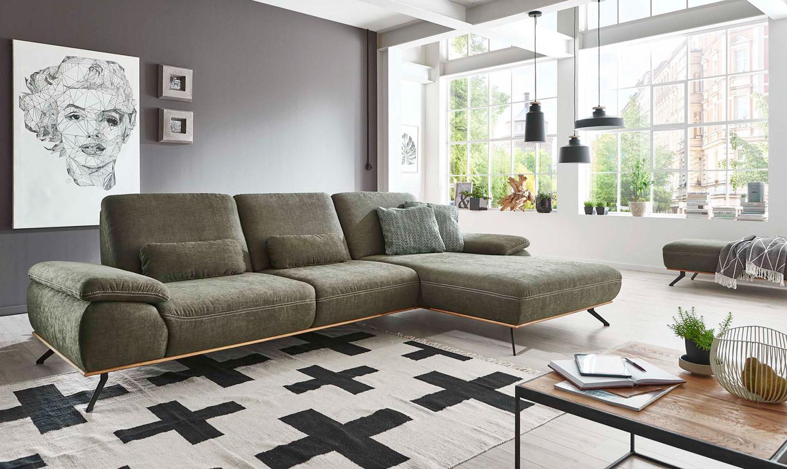 Couch grün
